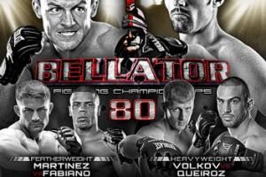 bellator80 poster