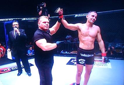 pro MMA fighter Shah Bobonis