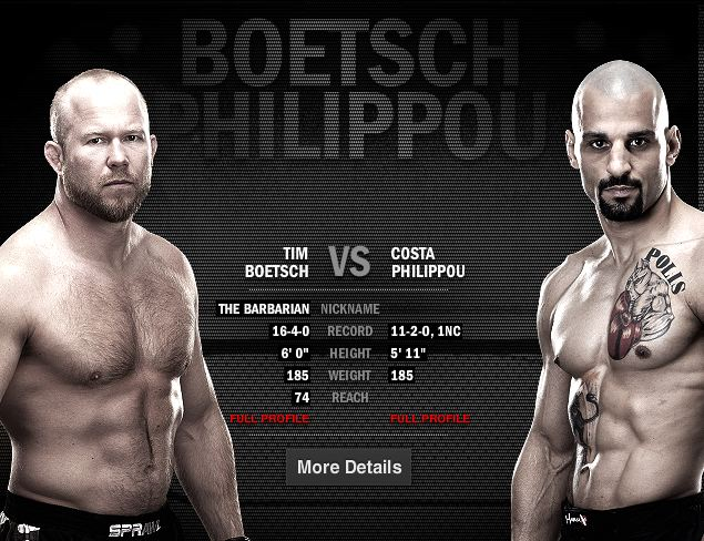 UFC 155: Will Costa Philippou be able to stop 'The Barbarian'?