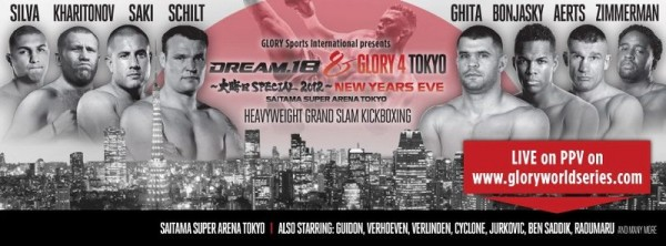 New Year's Eve special: DREAM 18 and GLORY 4 results