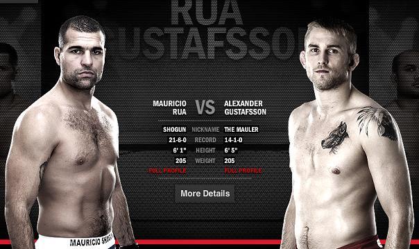 UFC on FOX 5 main card recap: Alexander Gustafsson batters 'Shogun', earns unanimous decision victory