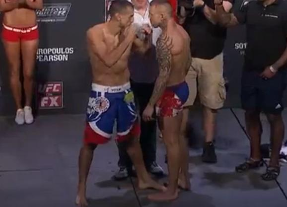 UFC on FX 6 weigh-in results