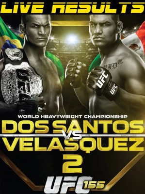 UFC 155 LIVE results and play by play