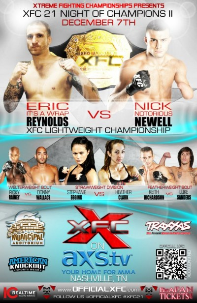 XFC 21 fight videos