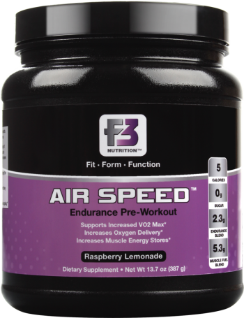 Product Review: F3 Nutrition Air Speed