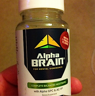 Product review: Alpha Brain