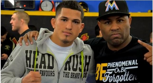 Eric Thomas motivates Roufusport fighters for UFC on FOX 6 bouts
