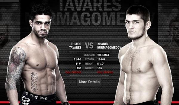 Tavares-Nurmagomedov