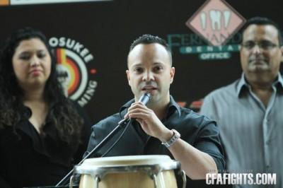 CFA promoter Jorge De La Noval. Photo courtesy CFAFights.com