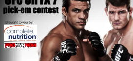 UFC on FX 7 Pick-em Contest sponsored by Complete Nutrition