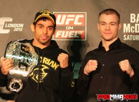 Renan Barao vs. Michael McDonald