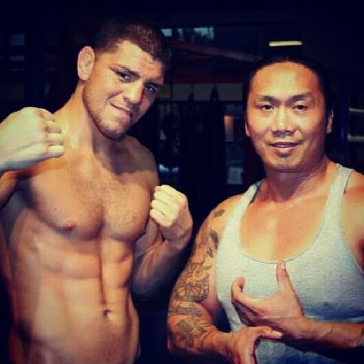 Nick Diaz and Jose Garcia