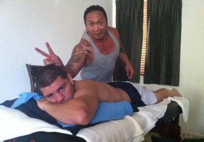 Nick Diaz and Jose Garcia