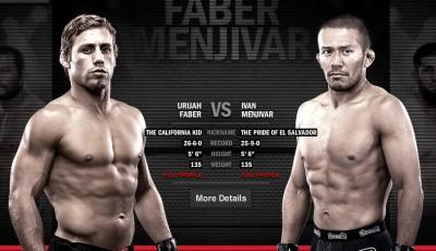 Urijah Faber, Ivan Menjivar, UFC 157