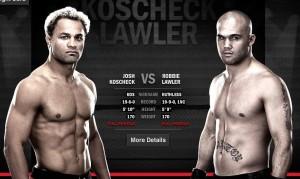 UFC 157, Josh Koscheck, Robbie Lawler