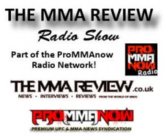 MMA Review Radio Banner