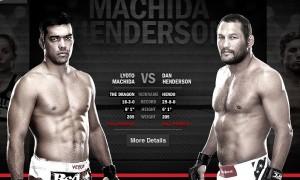 Dan Henderson, Lyoto Machida, UFC 157