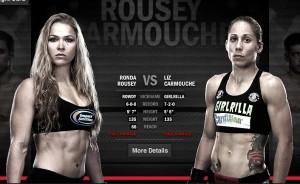 Ronda Rousey, Liz Carmouche, UFC 157