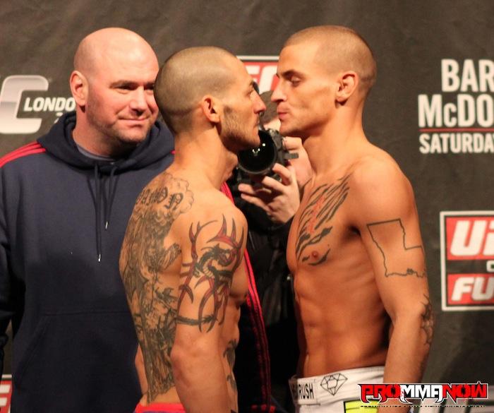 UFC's Cub Swanson vs. Dustin Poirier