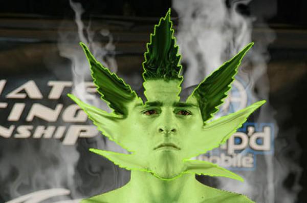 diaz-weed-up in smoke