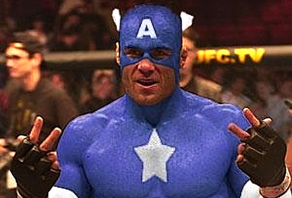 randy couture-captain america