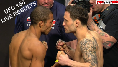 ufc156-live results