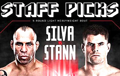 UFC on Fuel 8 staff picks