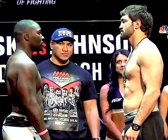 Anthony Johnson vs. Andrei Arlovski - WSOF 2
