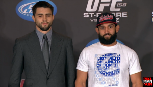 Carlos Condti vs. Johny Hendricks UFC 158