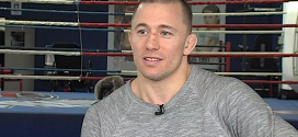 Georges St-Pierre picking Johny Hendricks to defeat Robbie Lawler at UFC 171
