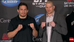 Jake Ellenberger vs. Nate Marquardt UFC 158