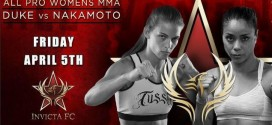 Jessamyn Duke's controversial loss at Invicta FC 5 overturned