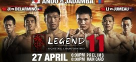 Koji Ando wins Legend Lightweight Title at Legend 11; full results