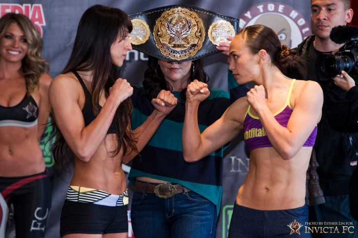 Invicta FC 5 - Jessica Penne vs Michelle Waterson