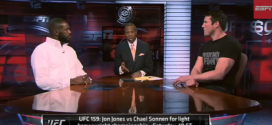 Jon Jones and Chael Sonnen take over ESPN for UFC 159 *VIDEO*