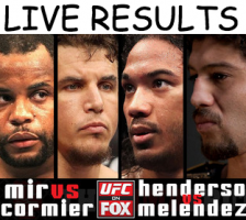 UFC on FOX 7 live results