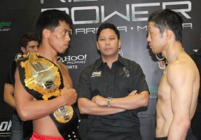 One FC Rise to Power weigh ins
