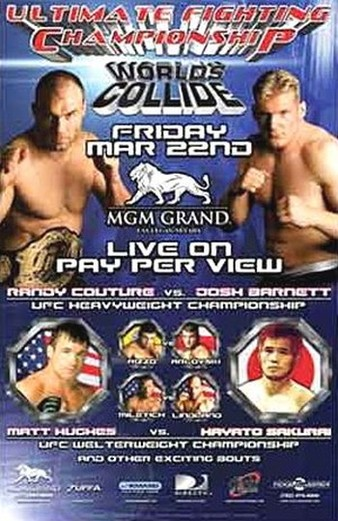 Josh Barnett won the UFC heavyweight title with a second round TKO over Randy Couture at UFC 36 in March 2002.