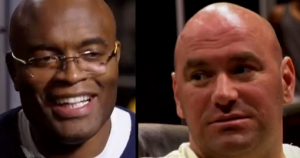 Anderson Silva and Dana White