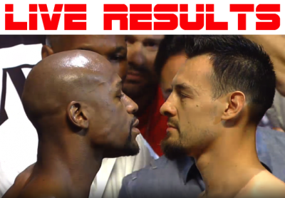 Mayweather vs. Guerrero results