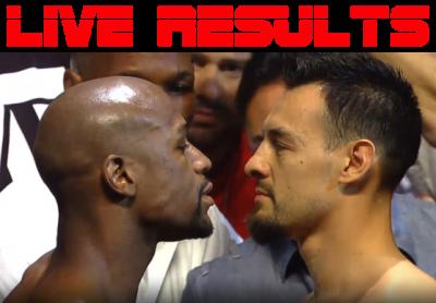 Mayweather vs. Guerrero results