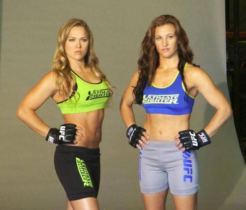 Ronda Rousey vs Miesha Tate - TUF 18