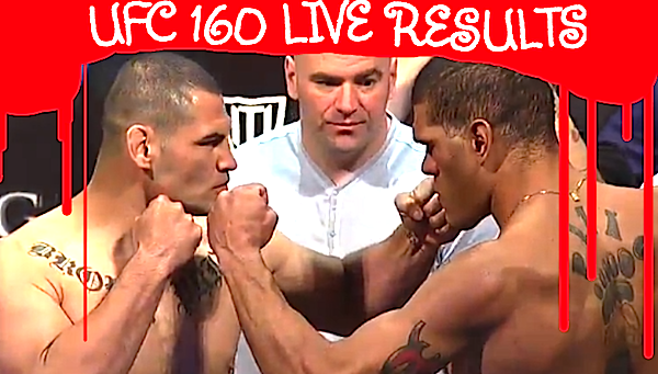 UFC 160 LIVE results and play-by-play