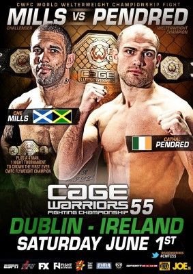 Cage Warriors 55 poster