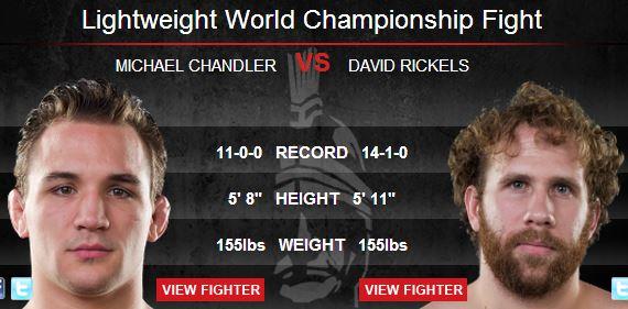 Dave Jansen injured, David Rickels now faces Michael Chandler at Bellator 97