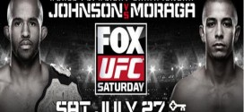 The UFC on FOX 8: Johnson vs. Moraga full card