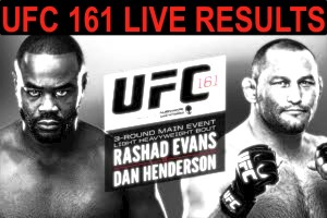ufc 161 LIVE RESULTS