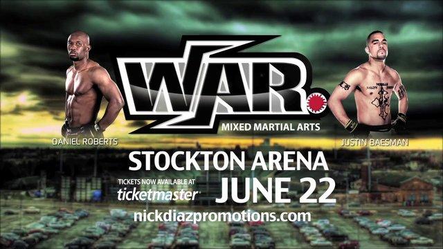Watch WAR MMA 1 Live Stream