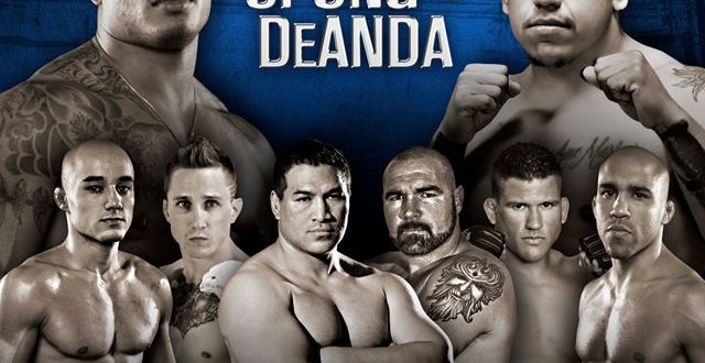 world series of fighting 4 angel deanda readies for tyrone spong video pro mma now