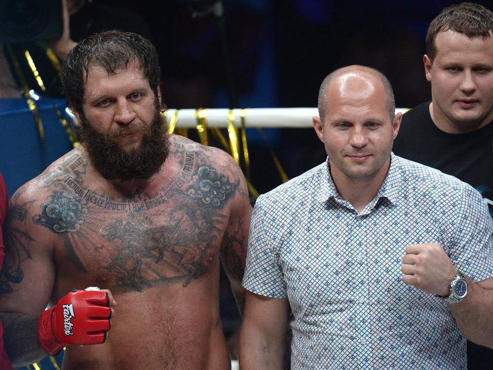 Alexander Emelianenko picks up TKO win over Jose Rodrigo Guelke at ProFC 49 *FIGHT VIDEO*